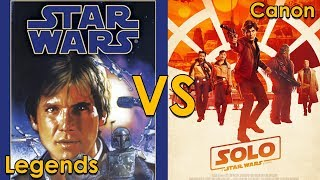 Han Solo LEGENDS VS CANON, What has Changed?