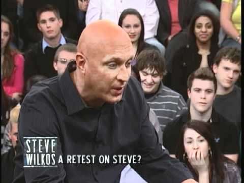 A Retest On Steve? (The Steve Wilkos Show)
