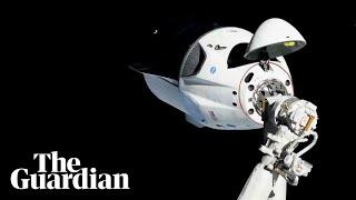 SpaceX capsule docks at International Space Station