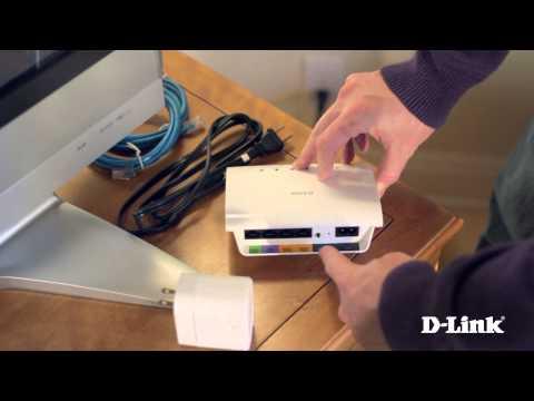 Getting Started: PowerLine AV 4-Port Switch Mini Kit (DHP-348AV)