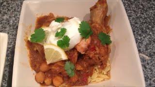 Кулинарный рецепт Второе блюдо Куриные ножки в соусе карри