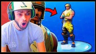 Ali-A GAVE ME AERIAL ASSAULT TROOPER (RAREST SKIN In FORTNITE!) Fortnite Battle Royale!
