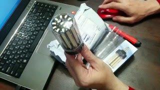 Cветодиодные лампы E27 из Китая Обзор(Купить светодиодные лампы E27 ➡ http://ali.pub/0no2m ✓ Всем привет, сегодня у нас в обзоре распаковка Тип светодиода..., 2016-04-13T17:37:23.000Z)