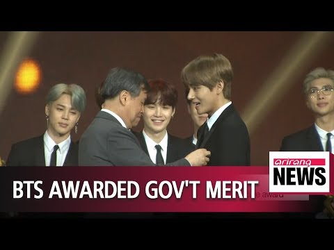 Boyband BTS recognized for developing Korea's national culture