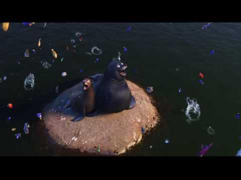 Finding Dory Epic Truck Falling Scene HD 1080p