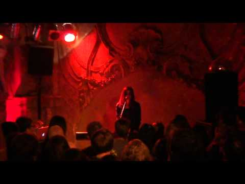 Dillon - Texture of my blood / As much as I ever could - Live @ Prinzenbar, Hamburg - 12/2011