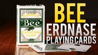 Deck Review - Bee Erdnase Acorn Back Club Special Playing Cards