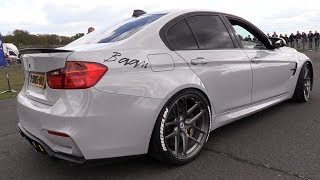 BMW M3 F80 w/ iPE Exhaust System - REVS & DRAG RACING!