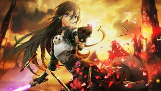 Lisa Thrill Risk Heartless Sword Art Online Fatal Bullet Opening Full