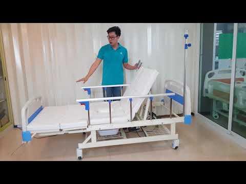 เตียงผู้ป่วย  เตียงคนไข้ เตียงไฟฟ้า เตียงคนป่วย เตียงระบบไฟฟ้ารุ่น T42