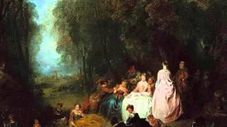 Boismortier, Sonate en sol majeur, op. 91 no. 3, Mercier-Lancret-Watteau
