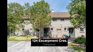 124 Escarpment Cres., Collingwood || For Sale