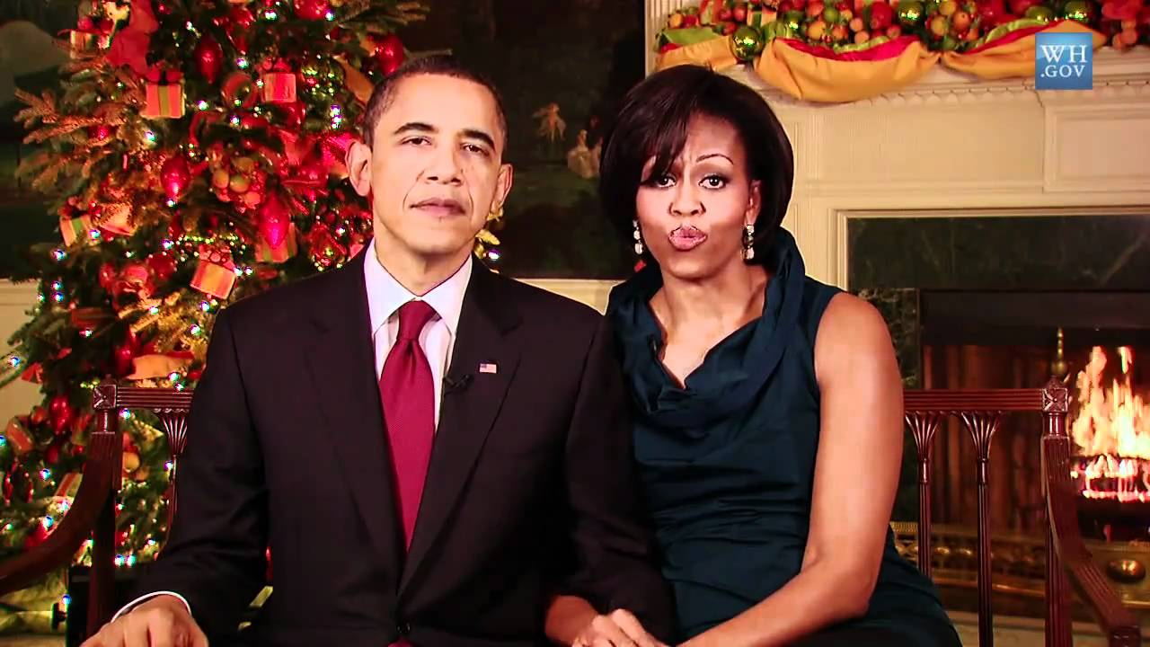 Merry Christmas From The Obamas - YouTube