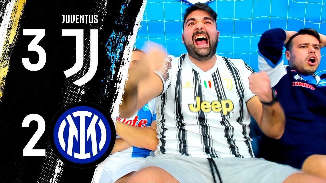 CHAMPIONS! JUVENTUS 3-2 INTER / REACTION LIVE w/FIUSGAMER