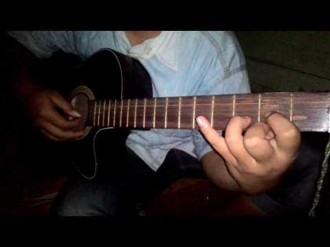 Melodi Gitar acustik CREED ONE LAST BREATH