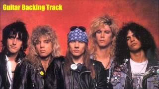 Guns N Roses - November Rain [Guitar Backing Track]