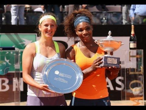 2013 Internazionali BNL d'Italia Final WTA Highlights