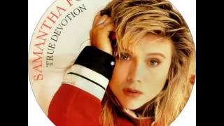 Samantha Fox - True Devotion (New Mix 1987)