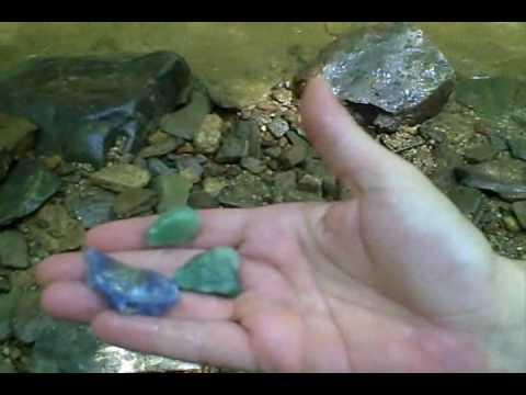 Hiddenite,N.C - Finding Gemstones