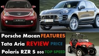 Top Speed - Porsche Macan, New Tata Aria & Polaris RZR S 800 - REVIEW & More thumbnail