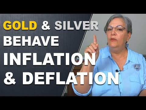 How gold and silver behave in Inflation and Deflation
