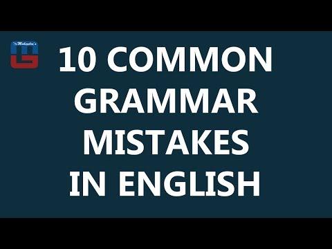 10 COMMON GRAMMAR MISTAKES | BASIC ENGLISH GRAMMAR