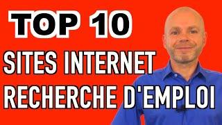 LES 10 MEILLEURS SITES INTERNET POUR TROUVER UN EMPLOI - RECHERCHE D'EMPLOI