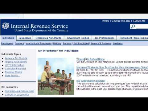 How To Check On An E-File Income Tax Return