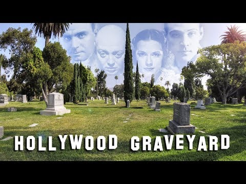FAMOUS GRAVE TOUR  Hollywood Forever 2 Rudolph Valentino, Estelle Getty, etc.