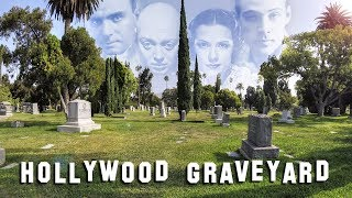 FAMOUS GRAVE TOUR - Hollywood Forever #2 (Rudolph Valentino, Estelle Getty, etc.)