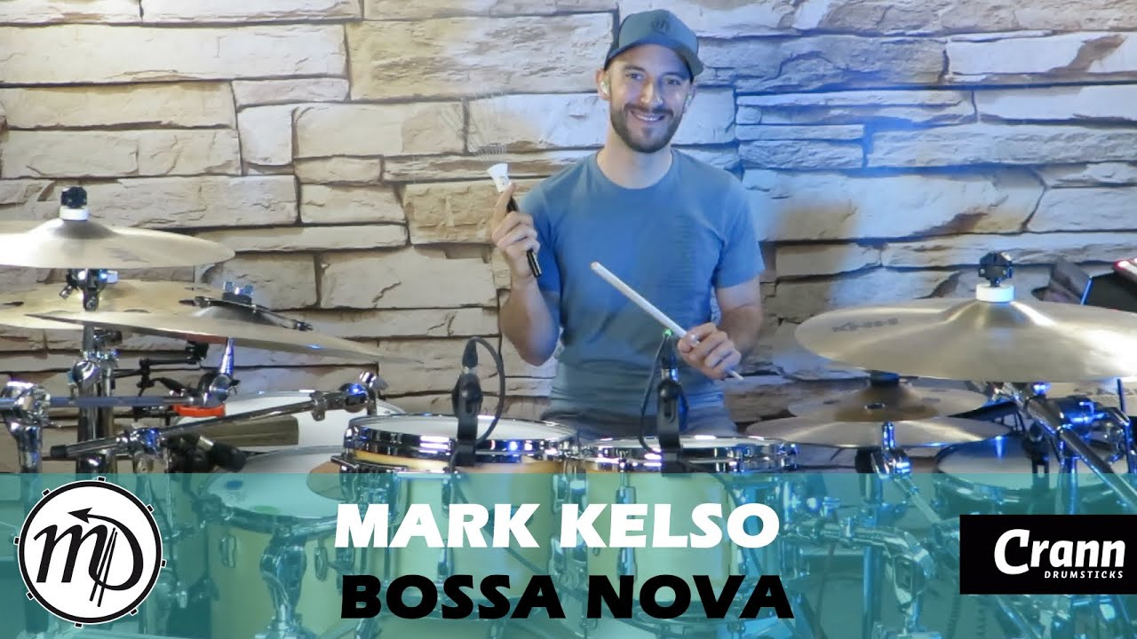 Bossa Nova - Mark Kelso - Drum Cover Drumeo (Latin) PEARL Maple Gum