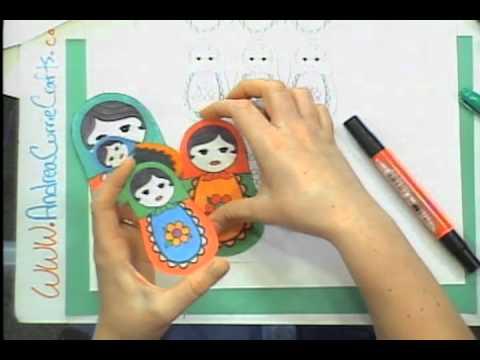 How To Make Russian Nesting Dolls Babushka Dolls Andrea Currie