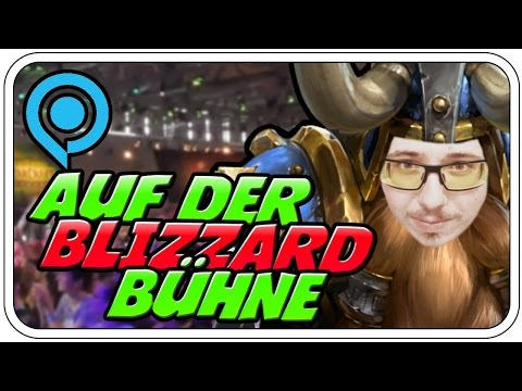 AUF DER BLIZZARD BÜHNE ♠♠♠♠♠ - HEROES OF THE STORM: BRAWLMANIA - GAMESCOM 2016 - Dhalucard
