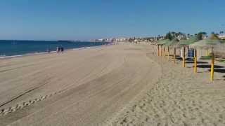 Roquetas de Mar. Almeria. (Playas de Las Salinas y La Romanilla)