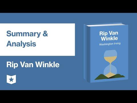 Rip Van Winkle By Washington Irving   Summary & Analysis