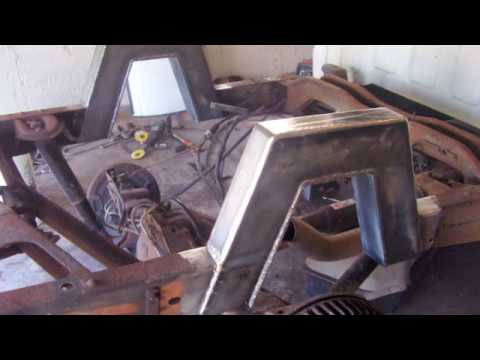 Bagged Truck - Step notch welding - YouTube