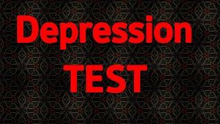 Depression TEST are you depressed? Test depression test how to know you are depressed