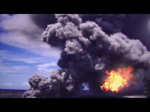 Otzberg Vulkan Ausbruch