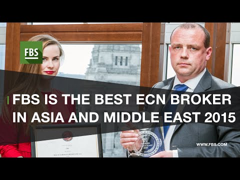 FBS is awarded Best ECN broker in Asia and Middle East 2015