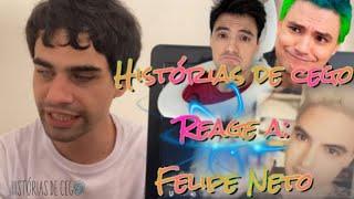 Histórias de Cego reage a Felipe Neto - tente não rir com futebol de cegos