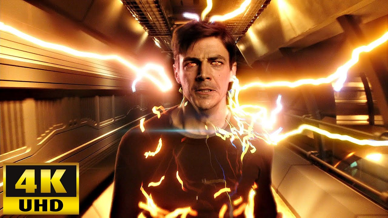 Download The Flash 7x01 Barry gets his speed back from Artificial Speedforce [4K UHD]