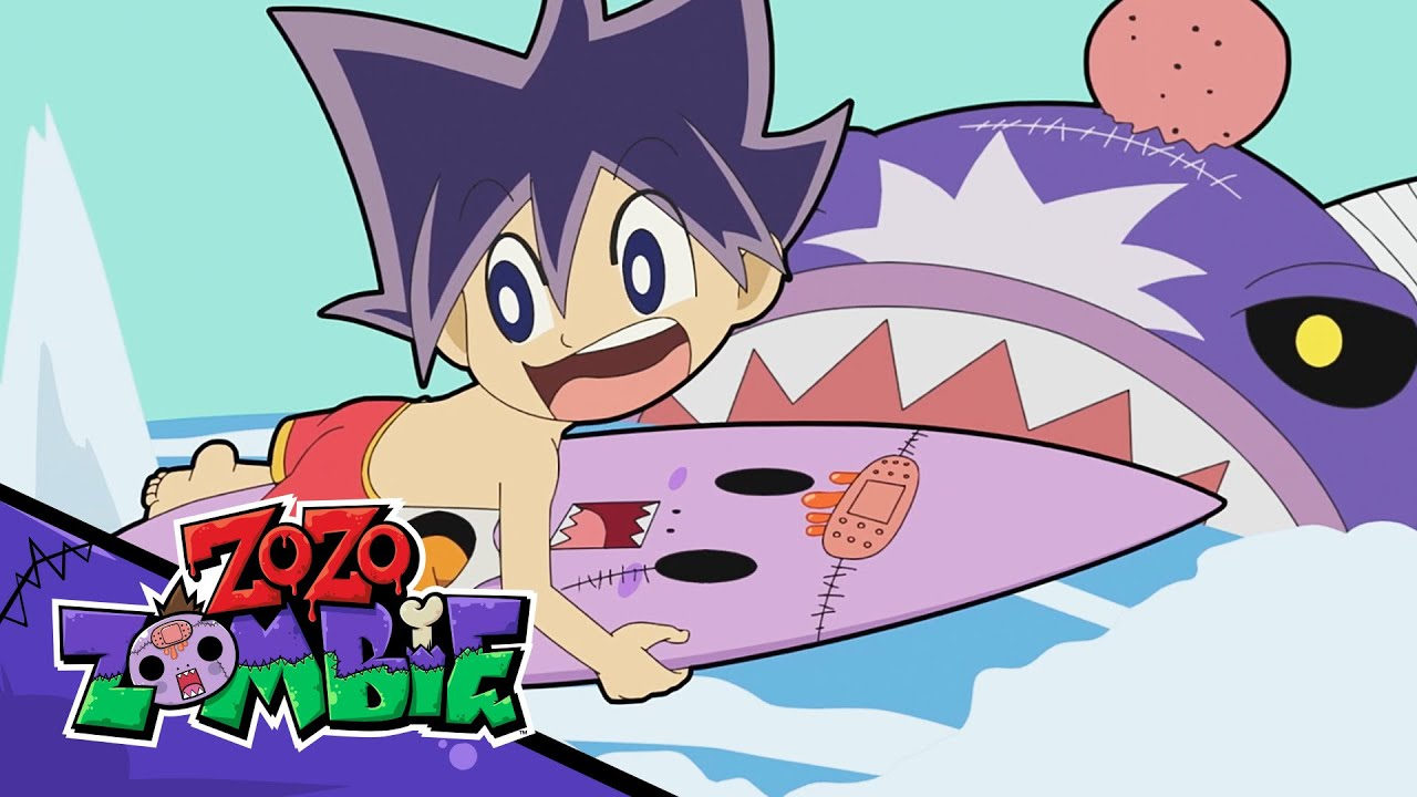 Zo Zo Zombie vs SHARK Zombie! The Last Day of Summer