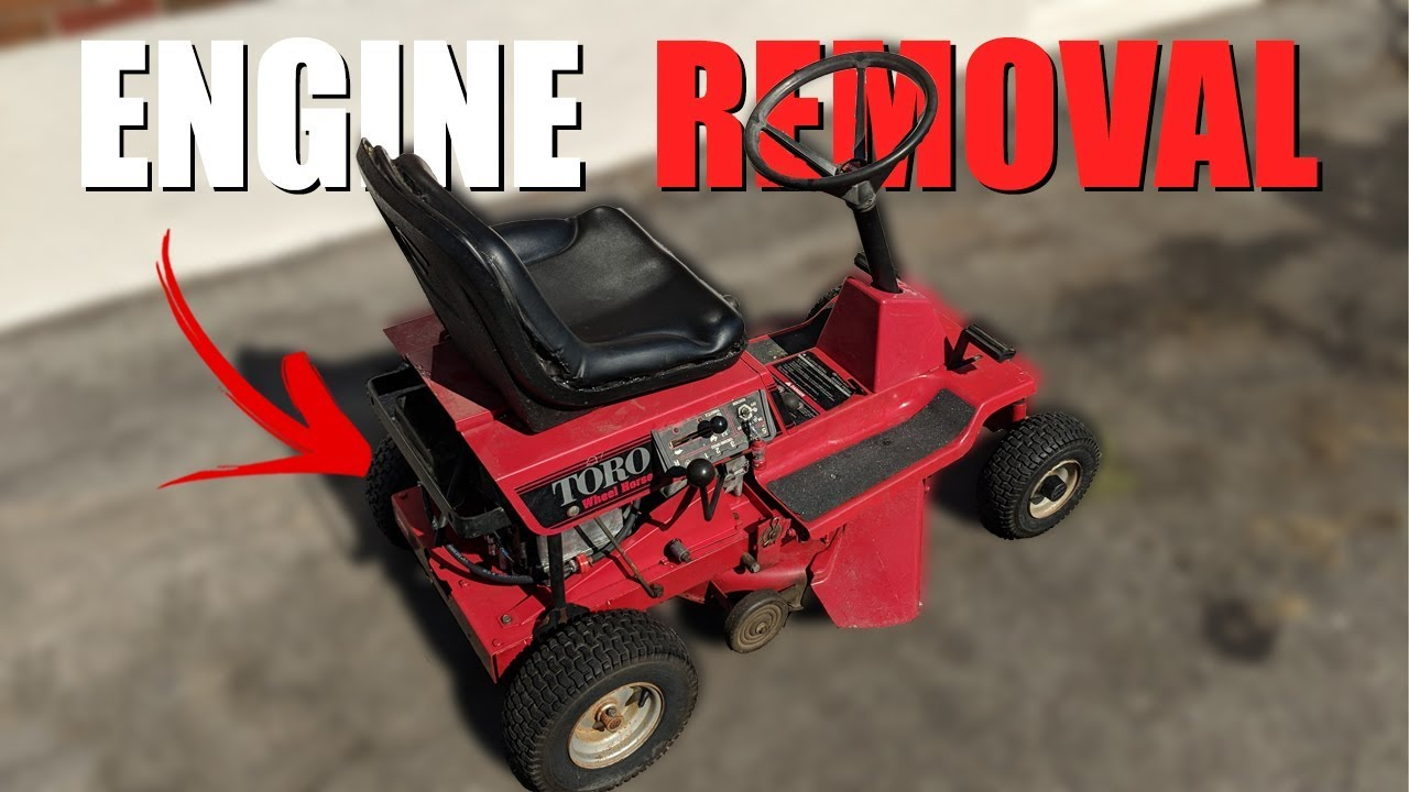 small resolution of toro 8 25 how to remove engine