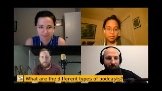 What are the different types of podcasts? - The Tech Nook