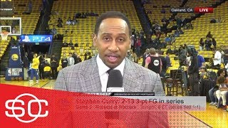 Stephen A.: 'I don't believe for one second that Steph Curry is 100% healthy' | SportsCenter | ESPN