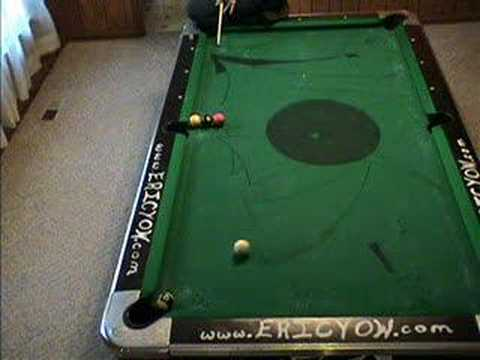 Eric Yows Trick Shot Madness Masse Insanity YouTube - Masse pool table