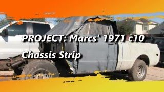 Marc's C10 Chassis Strip
