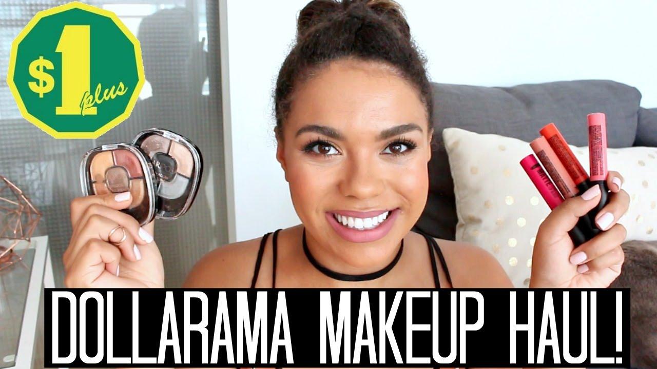 Dollarama Makeup Haul Mariposa Reviews Samantha Jane You
