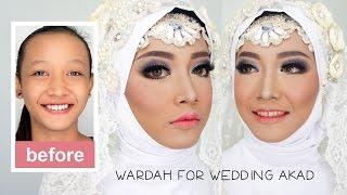 Video Tutorial Makeup dan Hijab Pengantin Muslim Akad menggunakan Wardah Kosmetik Halal download MP3, 3GP, MP4, WEBM, AVI, FLV Agustus 2017