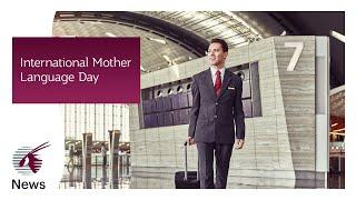 International Mother Language Day with our cabin crew | Qatar Airways